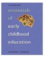 ESSENTIALS OF EARLY CHILD.ED.> 2nd 2003 edition cover