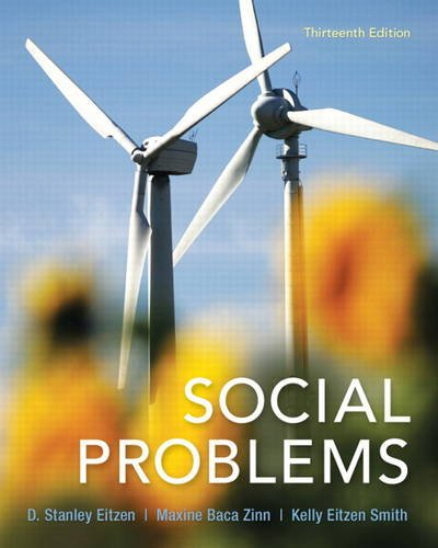 Social Problems Plus NEW MySocLab with EText -- Access Card Package  13th 2014 edition cover