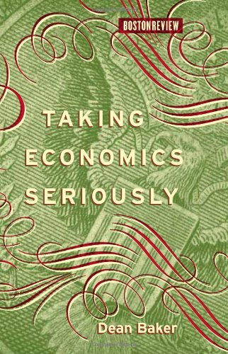 Taking Economics Seriously   2010 edition cover