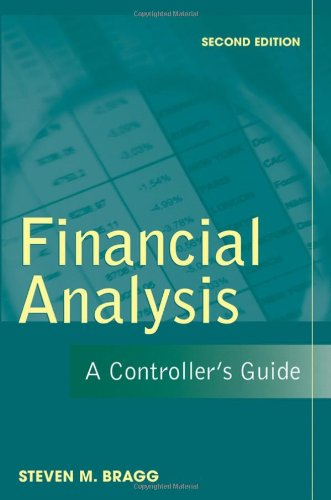 Financial Analysis A Controller's Guide 2nd 2007 (Revised) edition cover