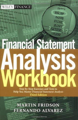 Financial Statement Analysis Step-by-Step Exercises and Tests to Help You Master Financial Statement Analysis 3rd 2002 (Revised) edition cover