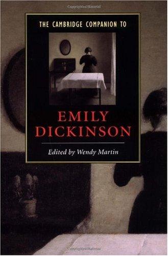 Cambridge Companion to Emily Dickinson   2002 edition cover