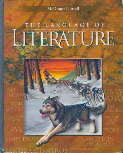 LANGUAGE OF LITERATURE 6 (GA TE) 1st 2003 9780618233182 Front Cover