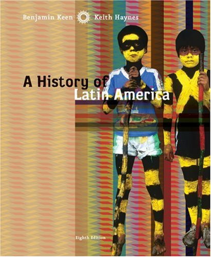 History of Latin America  8th 2009 edition cover
