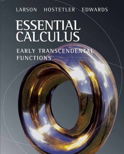 Essential Calculus Early Transcendental Functions  2008 edition cover