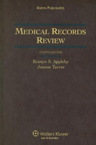 Medical Records Review  4th 2006 (Revised) edition cover