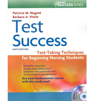 Test Success Test-Taking Techniques for Beginning Nursing Students 6th (Revised) edition cover