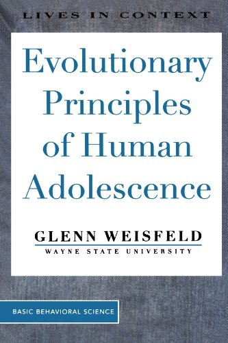 Evolutionary Principles of Human Adolescence   1998 (Revised) edition cover