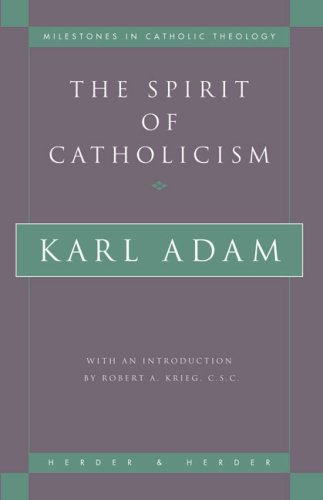 Spirit of Catholicism  N/A edition cover