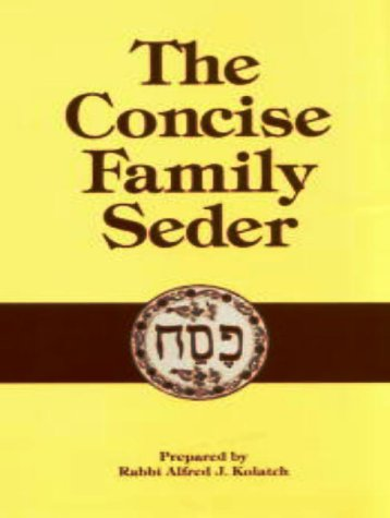 Concise Family Seder N/A edition cover