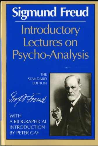 Introductory Lectures on Psycho-Analysis  Reprint 9780871401182 Front Cover