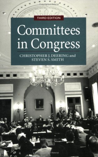 Committees in Congress  3rd 1997 edition cover