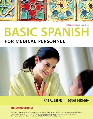 Spanish for Medical Personnel:   2013 9781285052182 Front Cover