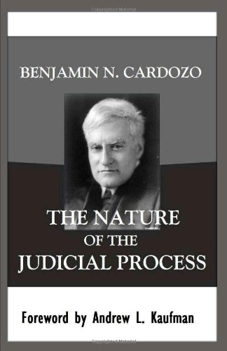 Nature of the Judicial Process   2010 9781610270182 Front Cover
