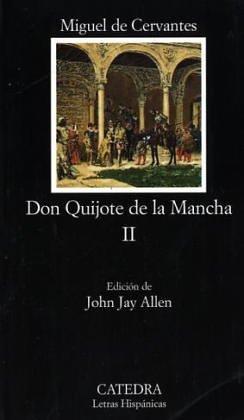 Don Quijote de la Mancha II  20th 1998 edition cover