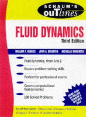 Schaum's Outline of Fluid Dynamics  3rd 1999 (Revised) 9780070311183 Front Cover