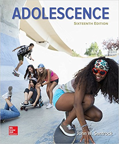 Adolescence 16th 2015 9780078117183 Front Cover