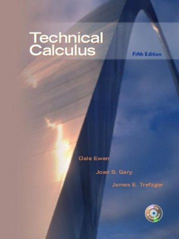 Technical Calculus  5th 2005 edition cover