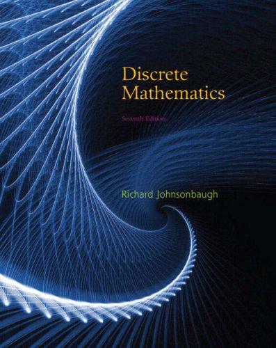 Discrete Mathematics  7th 2009 edition cover