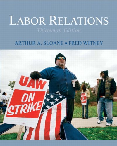 Labor Relations  13th 2010 edition cover