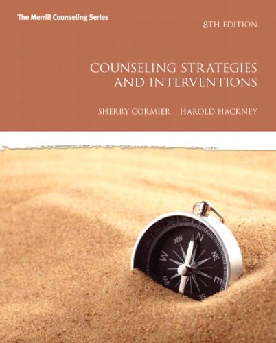 Counseling Strategies and Interventions  8th 2012 (Revised) edition cover