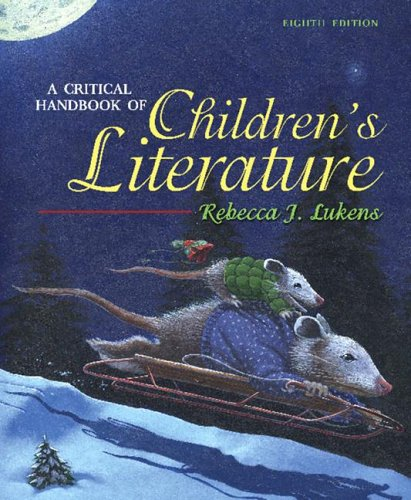 Critical Handbook of Children's Literature  8th 2007 (Revised) edition cover