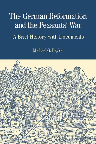 German Reformation and the Peasants' War A Brief History with Documents  2012 edition cover
