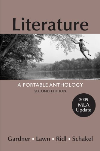 Literature with 2009 MLA Update A Portable Anthology 2nd 2011 edition cover