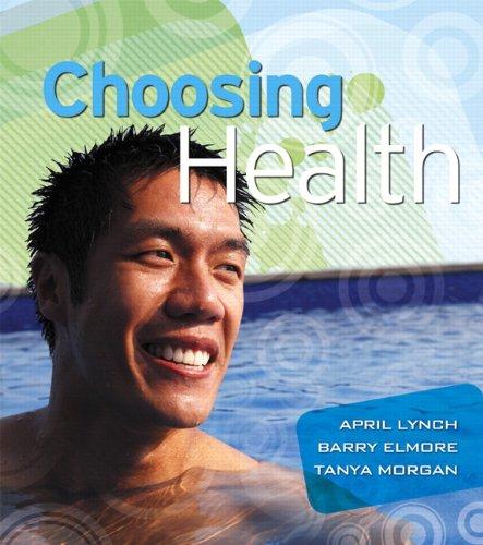Choosing Health   2012 edition cover