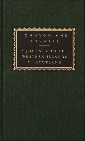 Journey to the Western Islands of Scotland With the Journal of a Tour to the Hebrides  2002 9780375414183 Front Cover