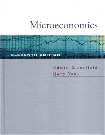 Microeconomics Theory and Applications 11th 2003 edition cover