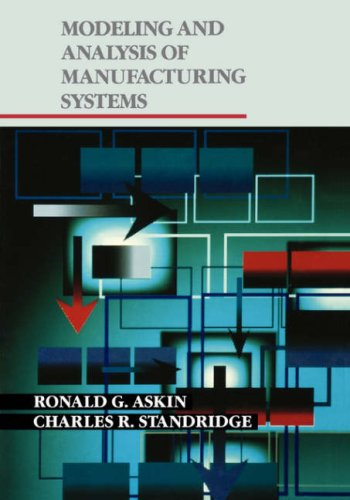 Modeling and Analysis of Manufacturing Systems   1992 edition cover