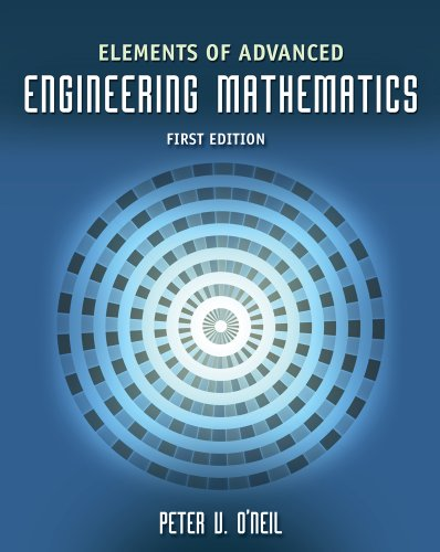 Elements of Advanced Engineering Mathematics   2010 edition cover