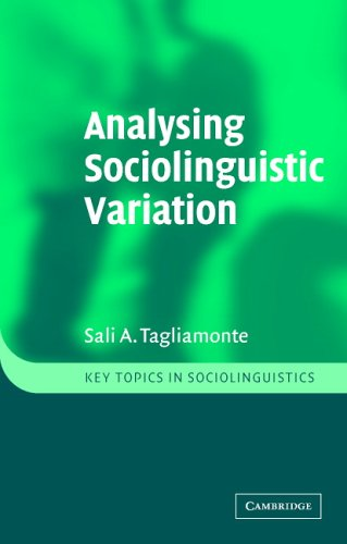 Analysing Sociolinguistic Variation   2006 edition cover