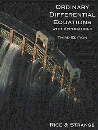 Ordinary Differential Equations with Applications 3rd 1994 edition cover