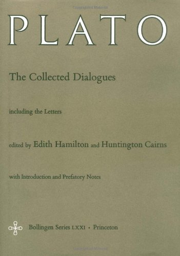 Collected Dialogues of Plato Including the Letters  1962 (Reprint) edition cover