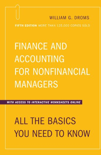 Finance and Accounting for Nonfinancial Managers All the Basics You Need to Know 5th Edition 5th 2003 (Revised) 9780738208183 Front Cover