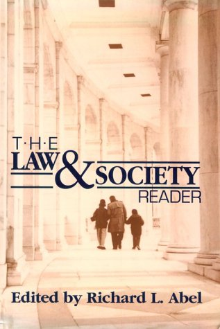 Law and Society Reader  N/A edition cover