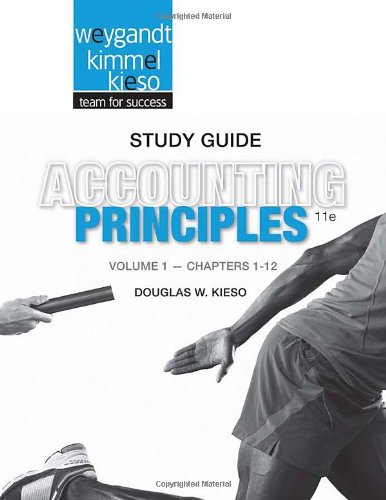 Accounting Principles  11th 2013 9781118342183 Front Cover