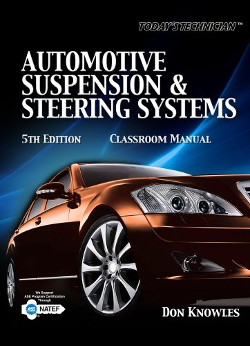 Automotive Suspension and Steering Systems  5th 2011 edition cover