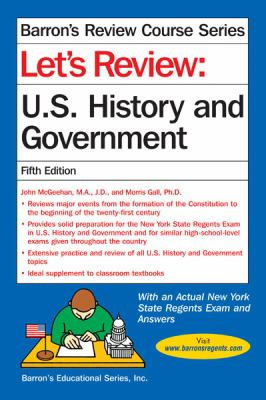 Let's Review U. S. History and Government  5th (Revised) edition cover