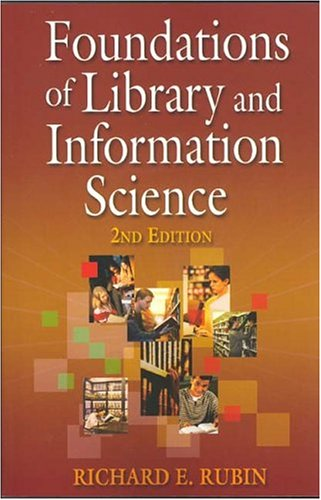 Foundations of Library and Information Science, 2nd Edition  3rd 2004 edition cover