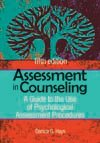 Assessment in Counseling A Guide to the Use of Psychological Assessment Procedures 5th 2013 edition cover