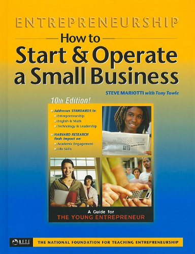 Entrepreneurship How to Start and Operate a Small Business 10th 2008 edition cover