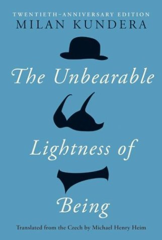 Unbearable Lightness of Being  20th 2004 (Anniversary) edition cover