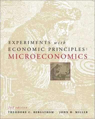 Experiments with Economic Principles Microeconomics 2nd 2000 (Revised) edition cover