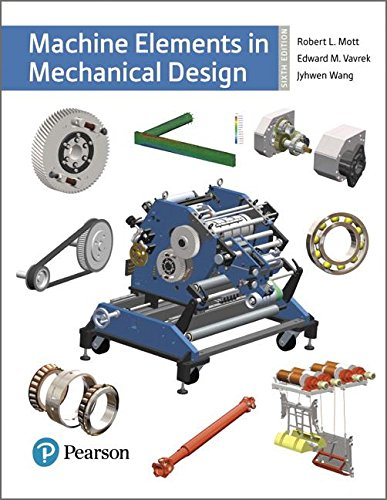 Machine Elements in Mechanical Design  6th 2018 9780134441184 Front Cover