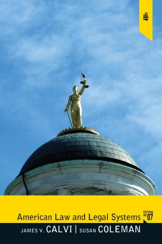 American Law and Legal Systems  7th 2012 (Revised) edition cover