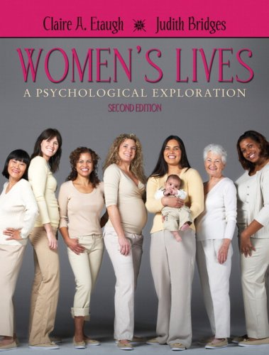 Women's Lives A Psychological Exploration 2nd 2010 edition cover