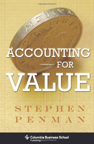 Accounting for Value   2011 edition cover